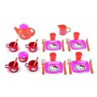 Ecoiffier Set mic dejun si set ceai Hello Kitty