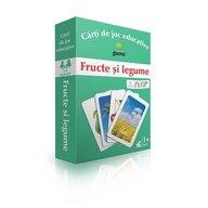 Editura Gama- Carti de joc educative Fructe si legume