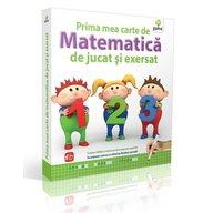 Editura Gama - Prima mea carte de matematica de jucat si exersat