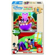 Educa Puzzle Mickey Mouse Club House 2 x 9