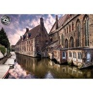 Educa Puzzle Orasul Brudes, Belgia - 1500 piese