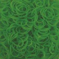 Rainbow Loom - Elastice Neon 300 buc, Verde