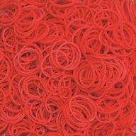 Rainbow Loom - Elastice Standard 600 buc, Rosu