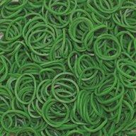 Rainbow Loom - Elastice Standard 600 buc, Verde inchis