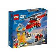 LEGO - Set de constructie Elicopter de pompieri ® City, pcs  212