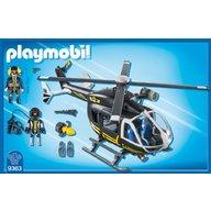 Playmobil - Elicopterul echipei Swat
