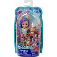 Mattel - Papusa Danessa Dear , Enchantimals , Cu figurina Sprint