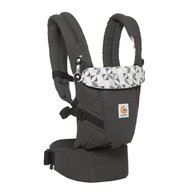 Ergobaby Marsupiu Adapt Original Graphic Grey 0 luni+