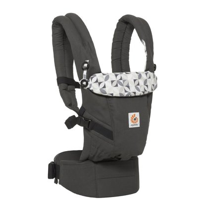 Ergobaby Marsupiu Ergobaby Adapt Original Graphic Grey 0 luni+