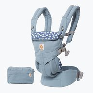 Ergobaby - Marsupiu Omni 360 All in One Blue Daisies