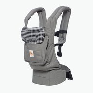 Ergobaby - Marsupiu Original Steel Plaid Phoenix