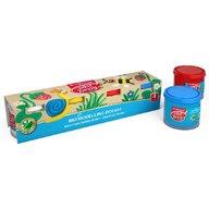ErichKrause Plastilina BIO cu aloe vera in culori primare ( 4 x 100 gr)