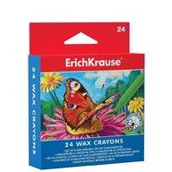 ErichKrause Set creioane colorate cerate - 24 culori