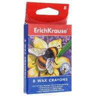 ErichKrause Set creioane colorate cerate - 8 culori