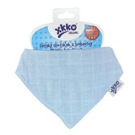 XKKO - Esarfa din bumbac organic, Sky Blue