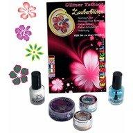 Eulenspiegel Set tatuaje temporare germane (glitter tattoos) Magical Flowers Eulenspiegel ST730560EULGT