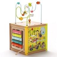 Eurekakids - Cub gigant din lemn cu activitati educative