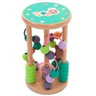 Eurekakids - Joc din lemn cu spirale si margele pentru cei mai mici