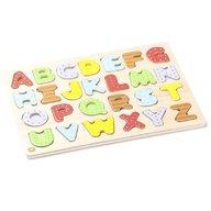 Eurekakids - Puzzle din lemn pentru potrivirea si invatarea literelor