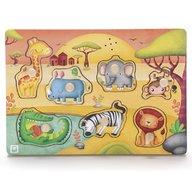 Eurekakids - Puzzle muzical Animale din savana