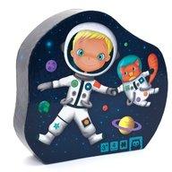 Eurekakids - Puzzle progresiv 4 in 1 Micul astronaut