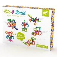 Eurekakids - Set constructie Click and Build pentru cei mai mici