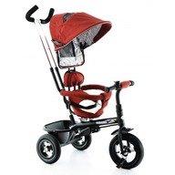 Tricicleta EURObaby cu scaun rotativ T306E - Rosu