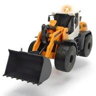 Dickie Toys - Excavator Liebherr L566 Xpower cu sunete si lumini