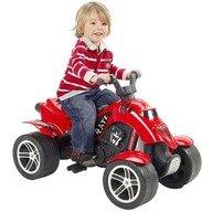 Falk ATV cu pedale Quad Pirate Rosu