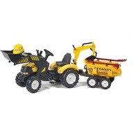 Falk Tractor Powerloader cu Cupa, Remorca si Accesorii