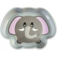 Lulabi - Farfurie adanca plastic Elefant