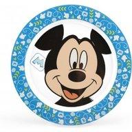 Lulabi - Farfurie melamina Mickey, Albastru