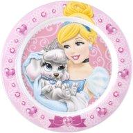 Lulabi - Farfurie melamina Princess Pets, Roz