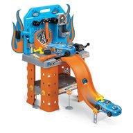Hot Wheels statie service cu masina inclusa 73 cm Faro