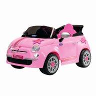 Peg Perego - Fiat 500 Star cu telecomanda, Pink