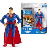 Spin Master - Figurina Supererou Superman , DC Universe , Cu accesorii, 10 cm, Articulat