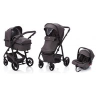 Fillikid - Carucior Panther transformabil 3 in 1, Grey Melange