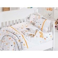 First Choice Lenjerie Baby bamboo 4 piese - stork orange