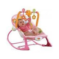Fisher-Price Balansoar 2 in 1 Infant to Todler Pink