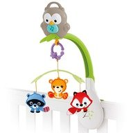 Fisher-Price Carusel 3 in 1 Woodland Friends