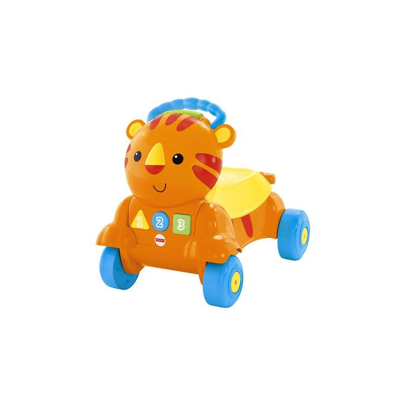 Fisher-Price Premergator 2 in 1 Stride to Ride Musical Tiger