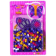 Hama - Set margele de calcat Fluture In blister, 250 buc Maxi