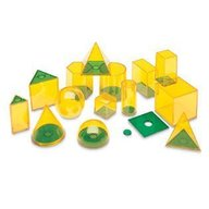 Learning Resources - Forme geometrice GeoSolids 14 piese