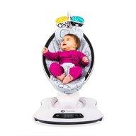 4Moms - Fotoliu balansoar bebelusi MamaRoo 4.0 plush Silver