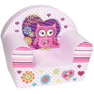 Trade - Fotoliu din burete Owl Dreams Light