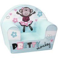 Trade - Fotoliu din burete Pretty Monkey