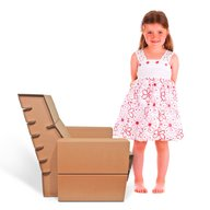 Foldo - Fotoliu din carton Seater Junior