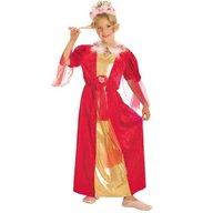 Fries - Costum pentru serbare Regina Trandafirilor 128 cm