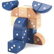 Genii Creation - Joc magnetic educativ din lemn Figuri geometrice 24 piese