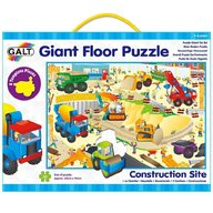 Galt - Giant floor puzzle Santierul 30 piese